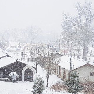 문경에코랄라의 겨울풍경